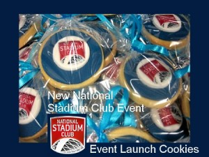 Corporate-event-sports-hub-launch-cookies