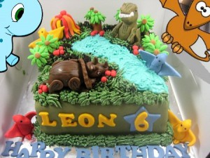 dino-happy-birthday-themed cakes