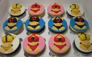 Bikini Cupcakes