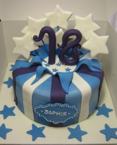 Happy 12th Birthday Cake