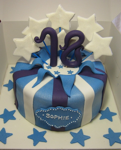 Happy 12th Birthday Cake