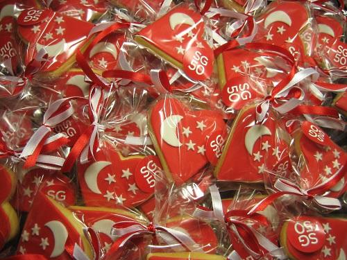 Johns Hopkins Singapore SG50 cookies