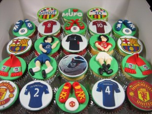 Football Club Cupcakes