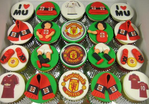 Man U Cupcakes 2015
