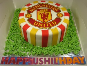 Manchester United Cake 2015