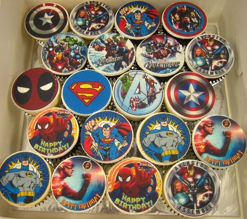 Marvel Cupcakes