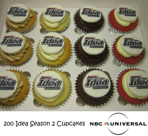 200 Cupcakes for NBCUniversal IDEA Season 2