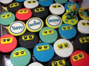Ninjago-birthday-cupcakes
