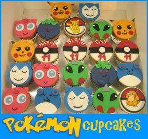 Pokemon birthday cupcakes