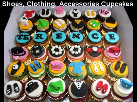 Shoes-clothing-birthday-cupcakes