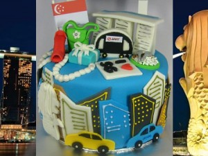 Singapore-Happy-birthday-decorated-cake
