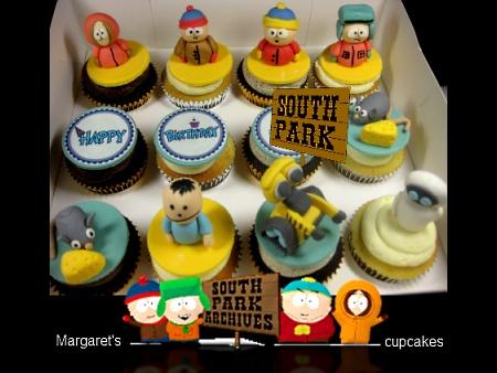 South-Park-birthday-cupcakes