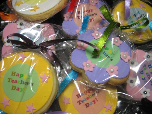 Teachers'day Thank You Cookies