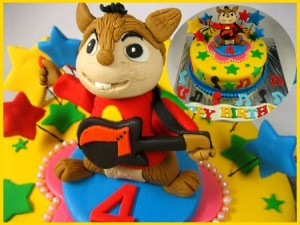 alvin-happy-birthday-themed cake