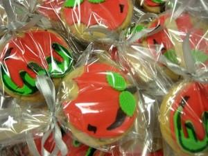apple-birthday-cookies