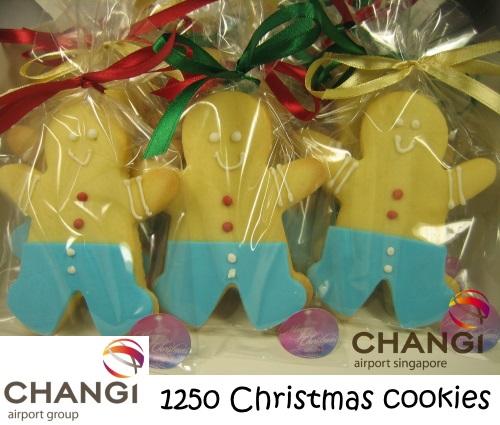 CHANGI AIRPORT GROUP 1250 Christmas cookies
