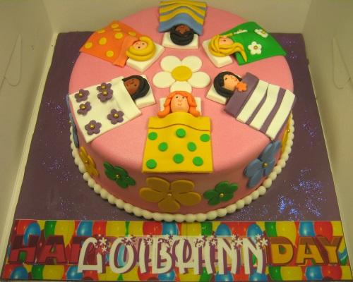"""Little girls"" birthday cake"