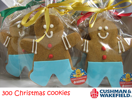 Christmas Gingerbread Man Cookies