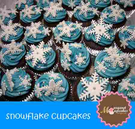 Frozen Cupcakes Snowflake frozen-snowflake- cupc...