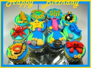 under-sea-happy-birthday-customized-cupcakes