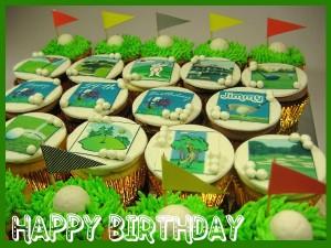 golf-happy-birthday-customized-cupcakes