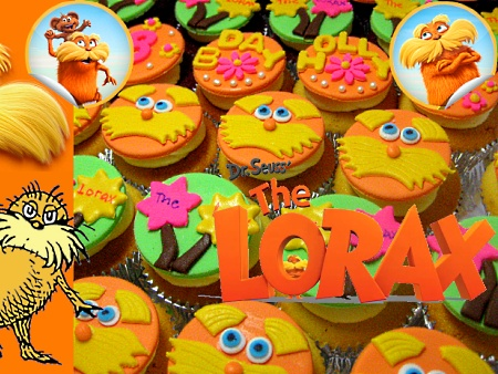 lorax-birthday-cupcakes