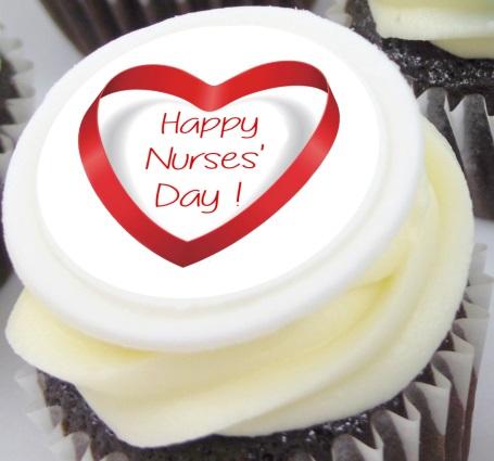 Nurses' Day Cupcakes