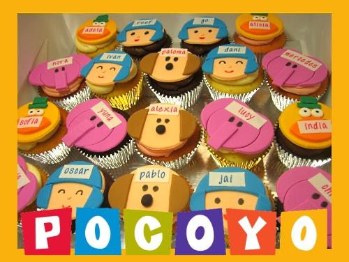 pocoyo-birthday-cupcakes