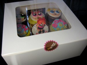 power-puff-girls-birthday- cupcakes