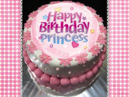 princess--Happy-birthday-themed-cake | MargaretCookies
