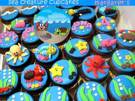 under-the-sea-creature-birthday-cupcakes