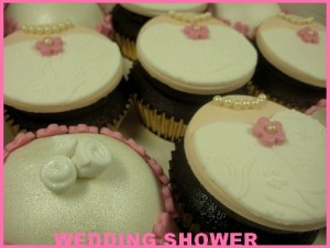 pink-wedding-shower-cupcakes