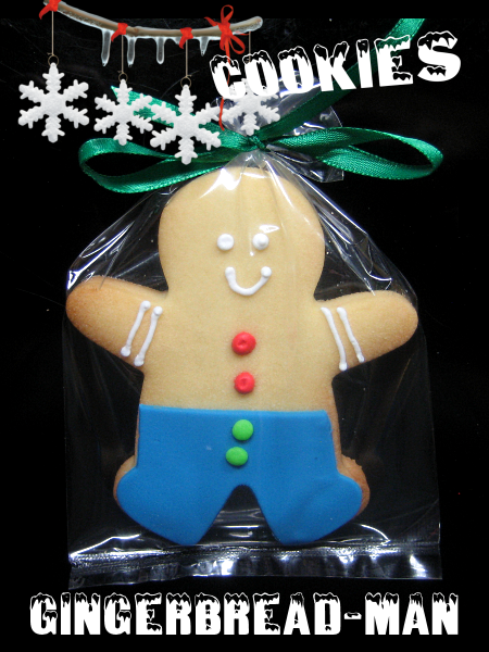 Christmas Cookie Gingerbread man