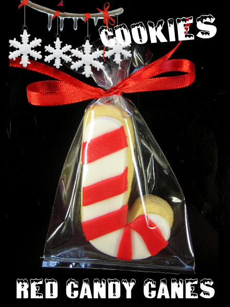 Christmas Cookie Red Candy Canes
