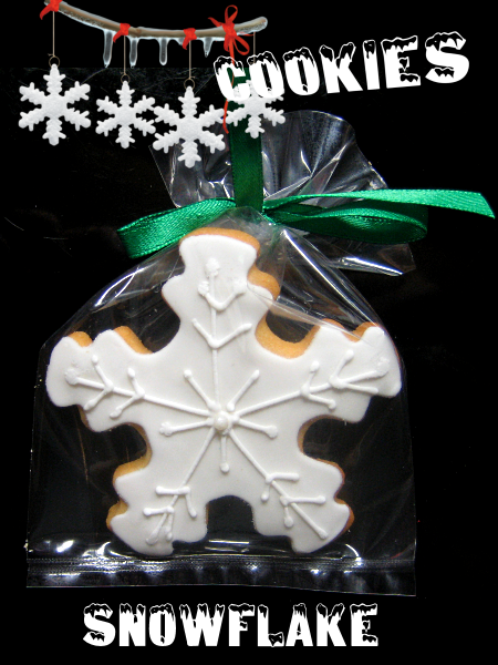 Christmas Cookie Snowflake