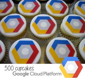 Google Cloud Platform cupcakes