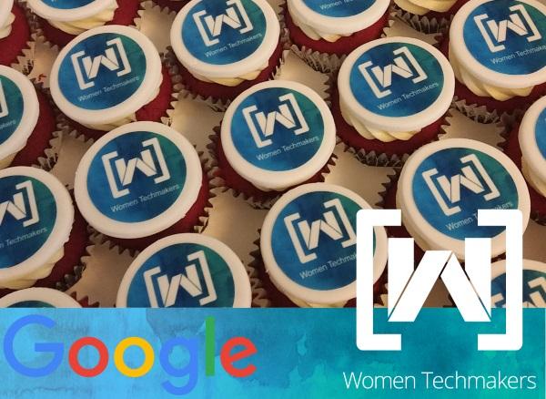 Google Women Techmakers cupcakes