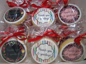 Thank you & goodbye cookies
