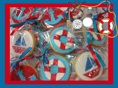 nautical-design-birthday-cookies