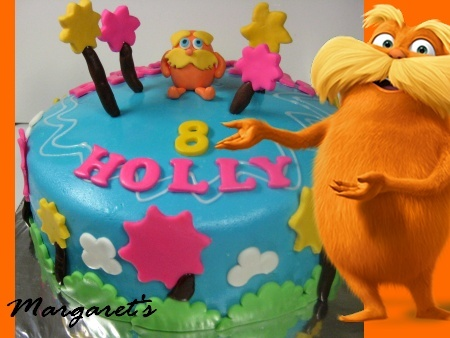 lorax-happy-birthday-themed cake