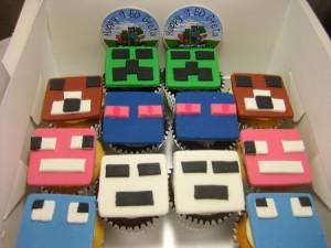 12 Birthday cupcakes