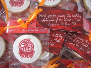 Cookies with header & tag