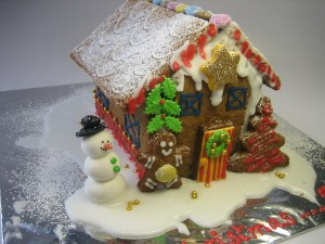 Christmas-themed-cake