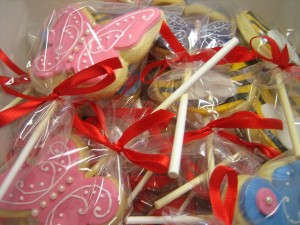 Lollipop Butterfly Cookies