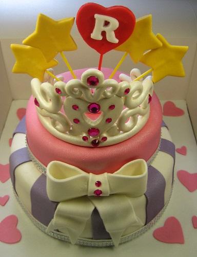 Crown Princess Birthday Cake
