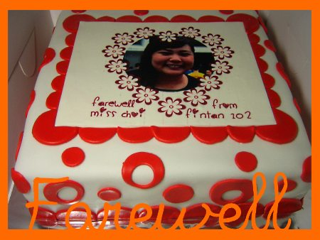 Farewell-cake