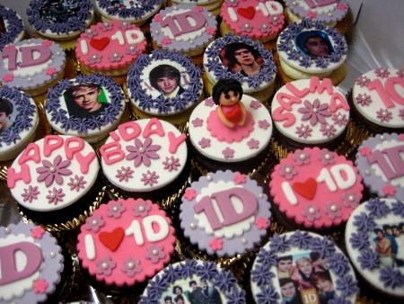 Happy Birthday Customized Cupcakes Order