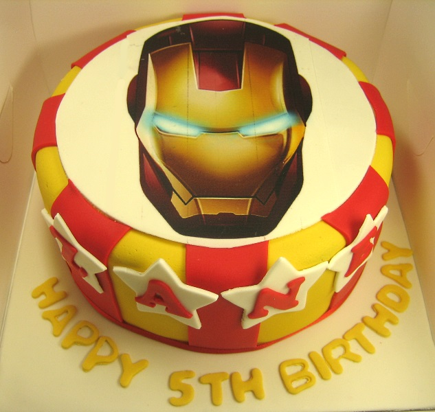 Iron Man Cake MargaretCookies