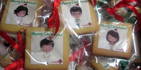 Jurong-Health-Christmas-square- cookies
