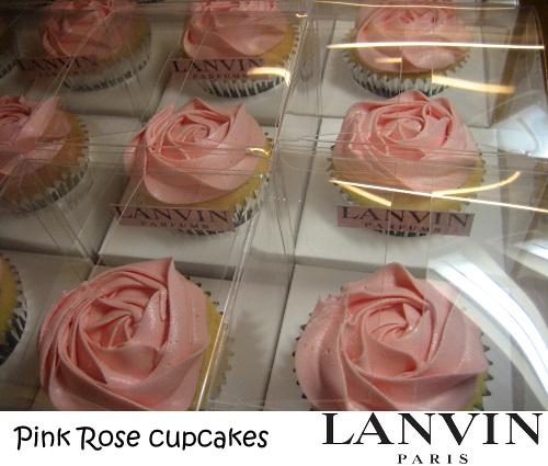 Lanvin cupcakes